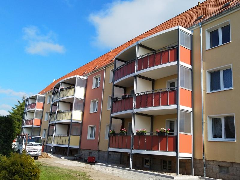 Balkonanbau Holzstr. 31-33-33a